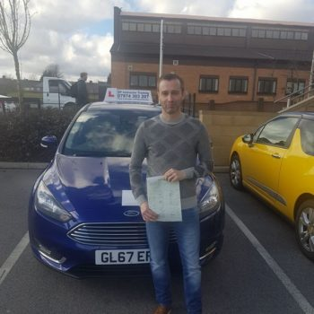 Driving Instructor training in altrincham